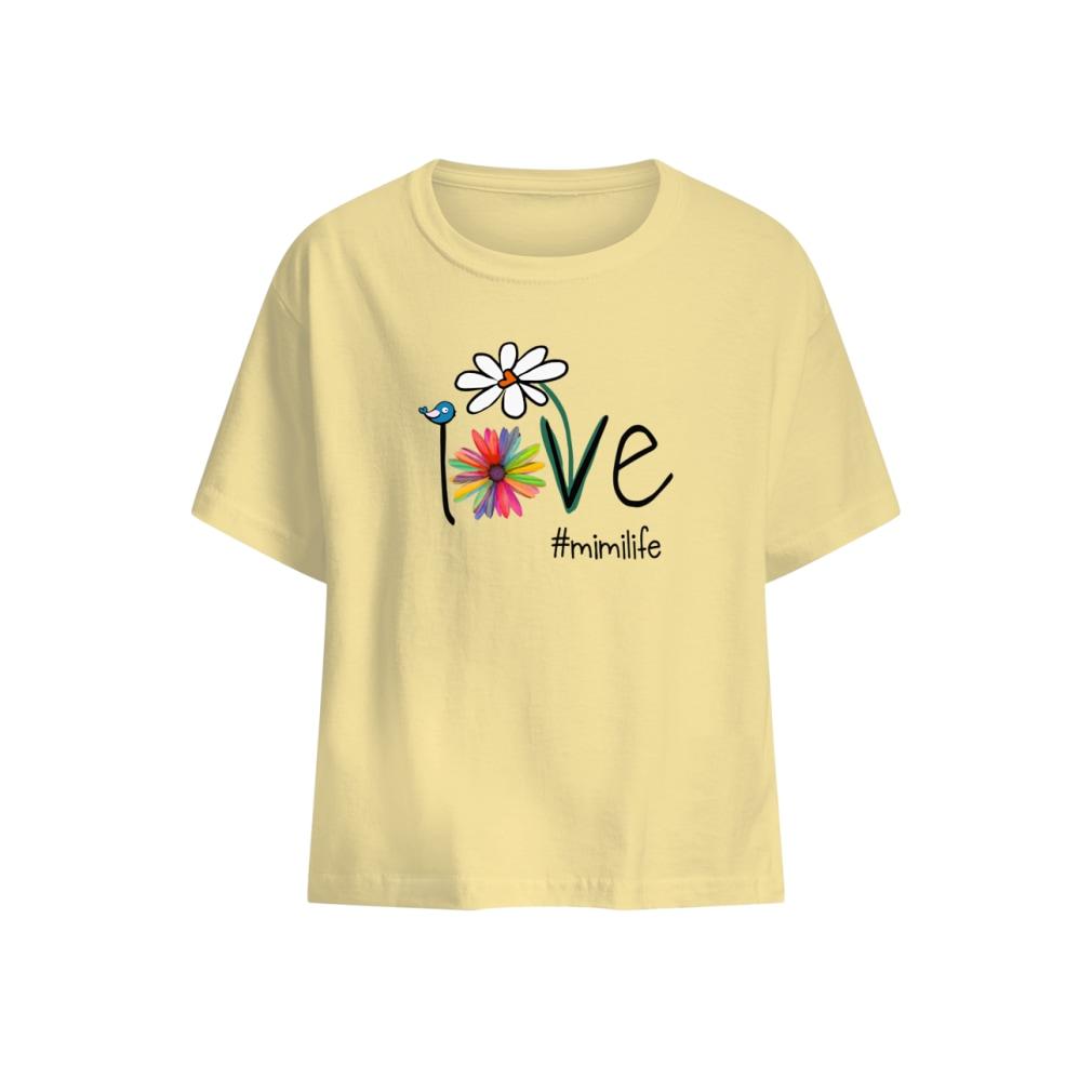 Mimilife Bird Flower Love shirt baby t-shirt
