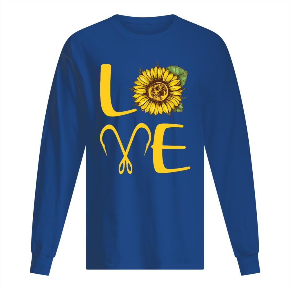 Sunflower Love Fishing shirt men's long sleeved t-shirt