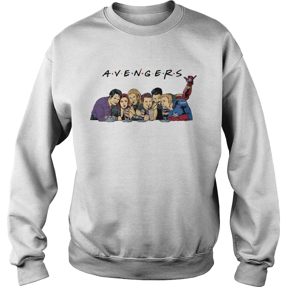 Avengers Endgame drink water Captain America Thor Iron man shirt sweat shirt