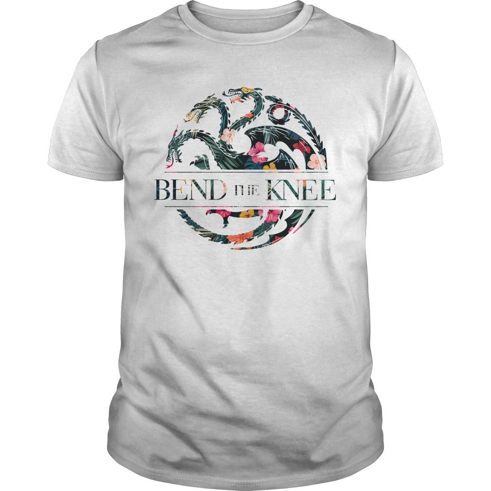 Bend The Knee Game Of Thrones Flower Shirt, Sweat Shirt