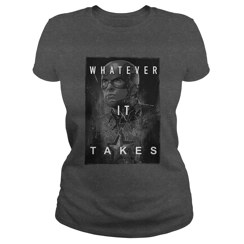 Captain America whatever it take shirt lady tee