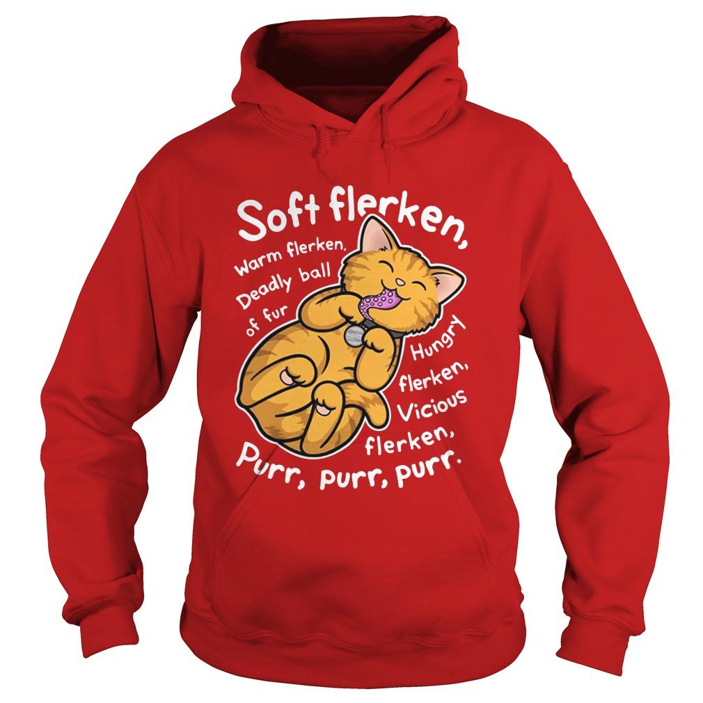 Cat Soft flerken warm flan deadly ball of fur shirt hoodie