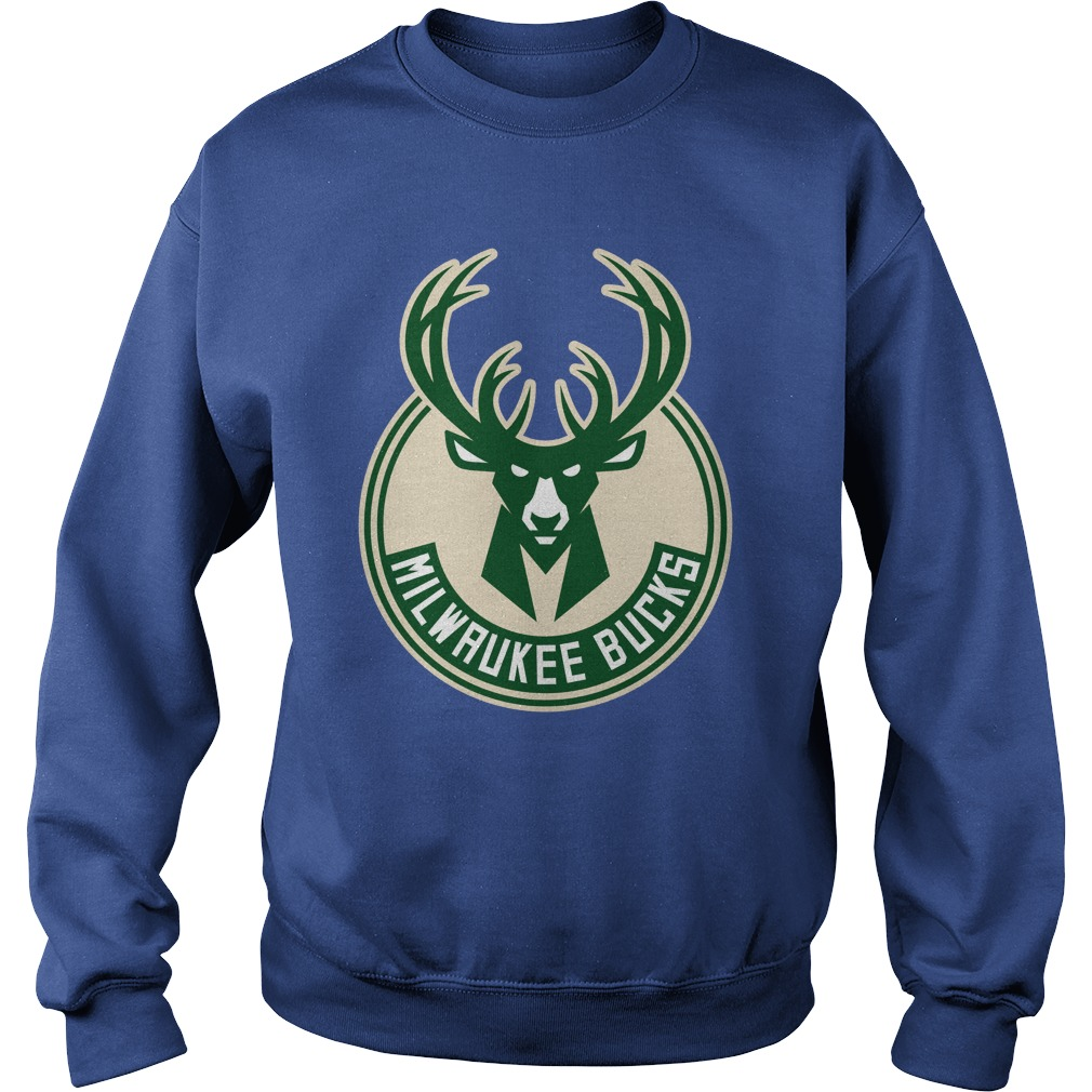 Deer milwaukee bucks shirt sweat shirt