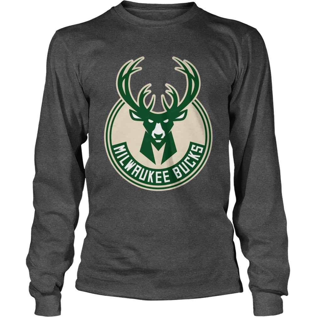 Deer milwaukee bucks shirt unisex longsleeve tee