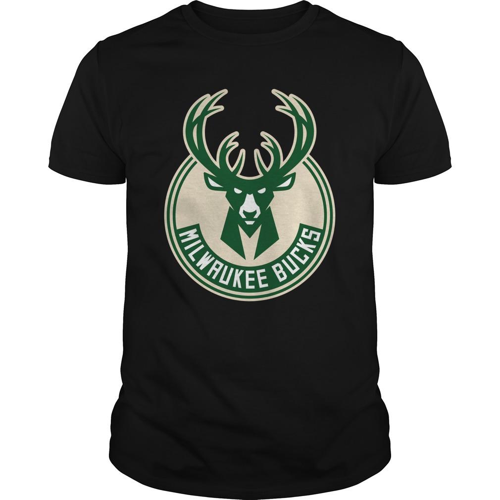 Deer milwaukee bucks shirt unisex tee