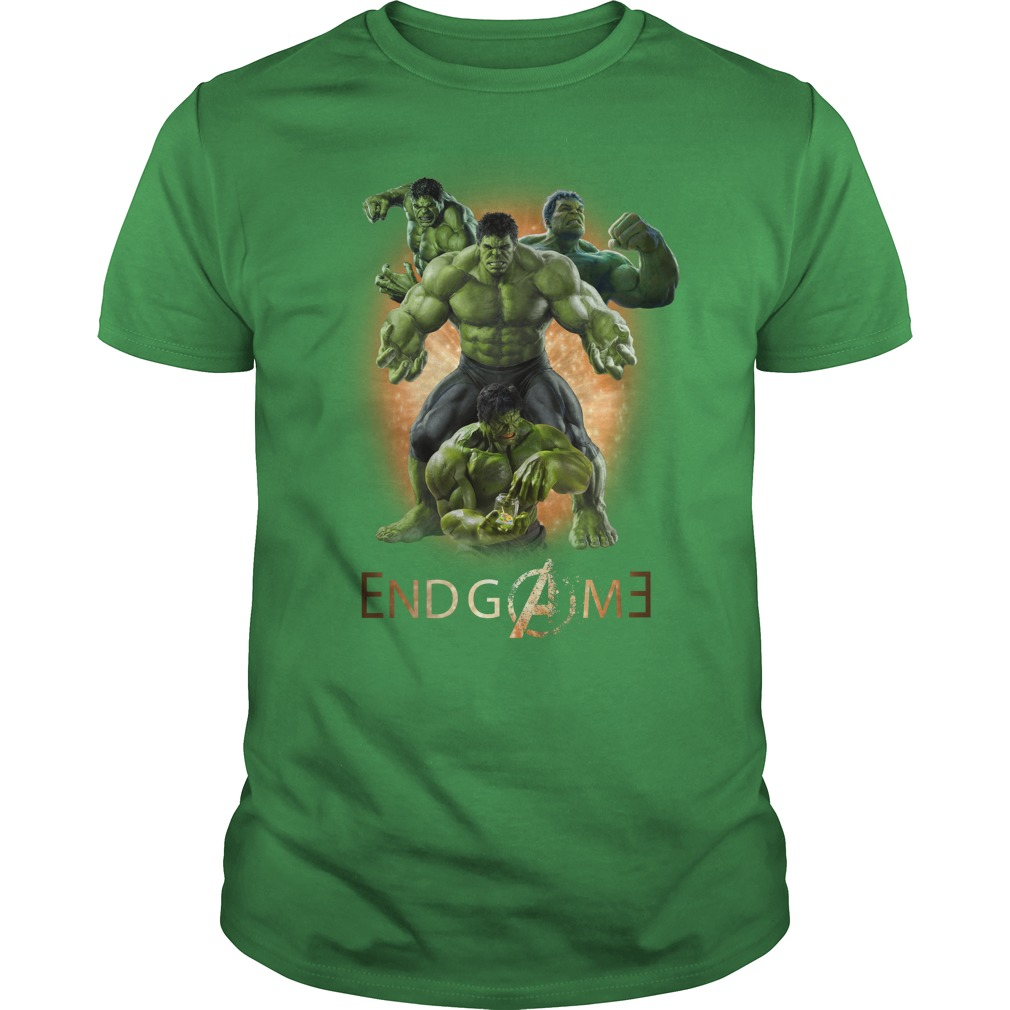 Hulk Avengers Endgame signature shirt unisex tee