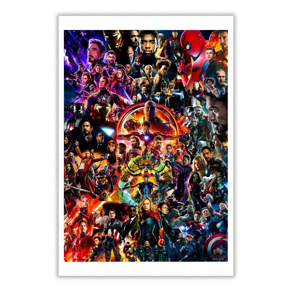 Marvel Cinematic Universe Poster