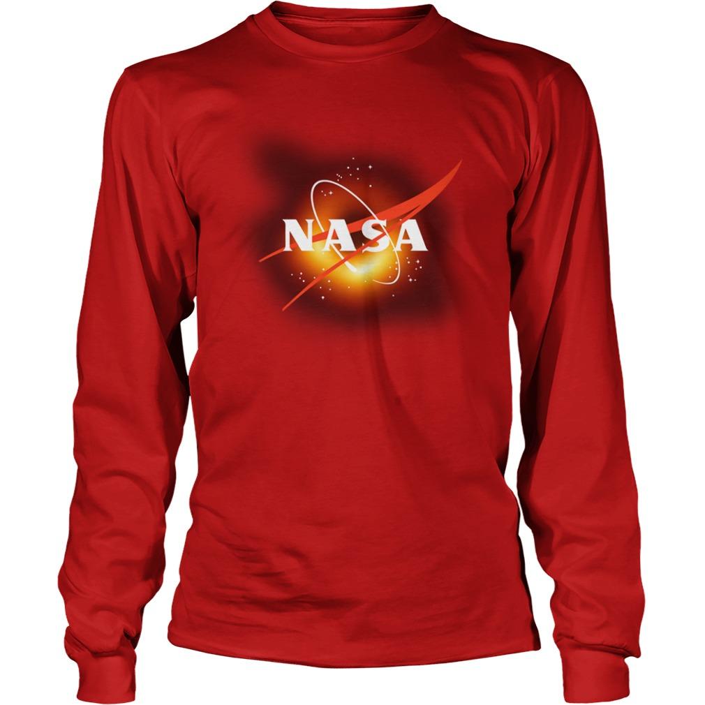 NASA insignia EHT Black Hole 2019 shirt unisex longsleeve tee