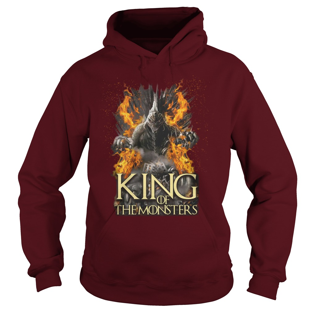 Game of Thrones Godzilla King of the monsters shirt hoodie