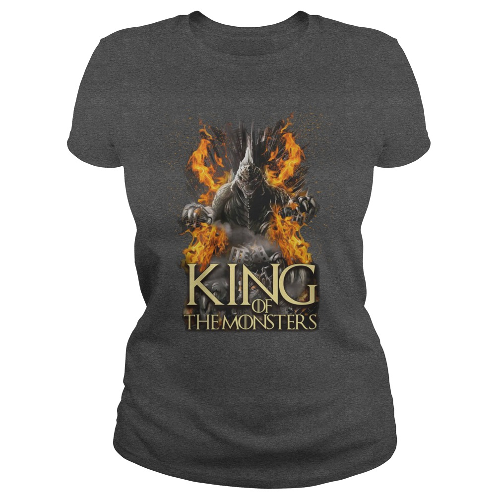 Game of Thrones Godzilla King of the monsters shirt lady tee