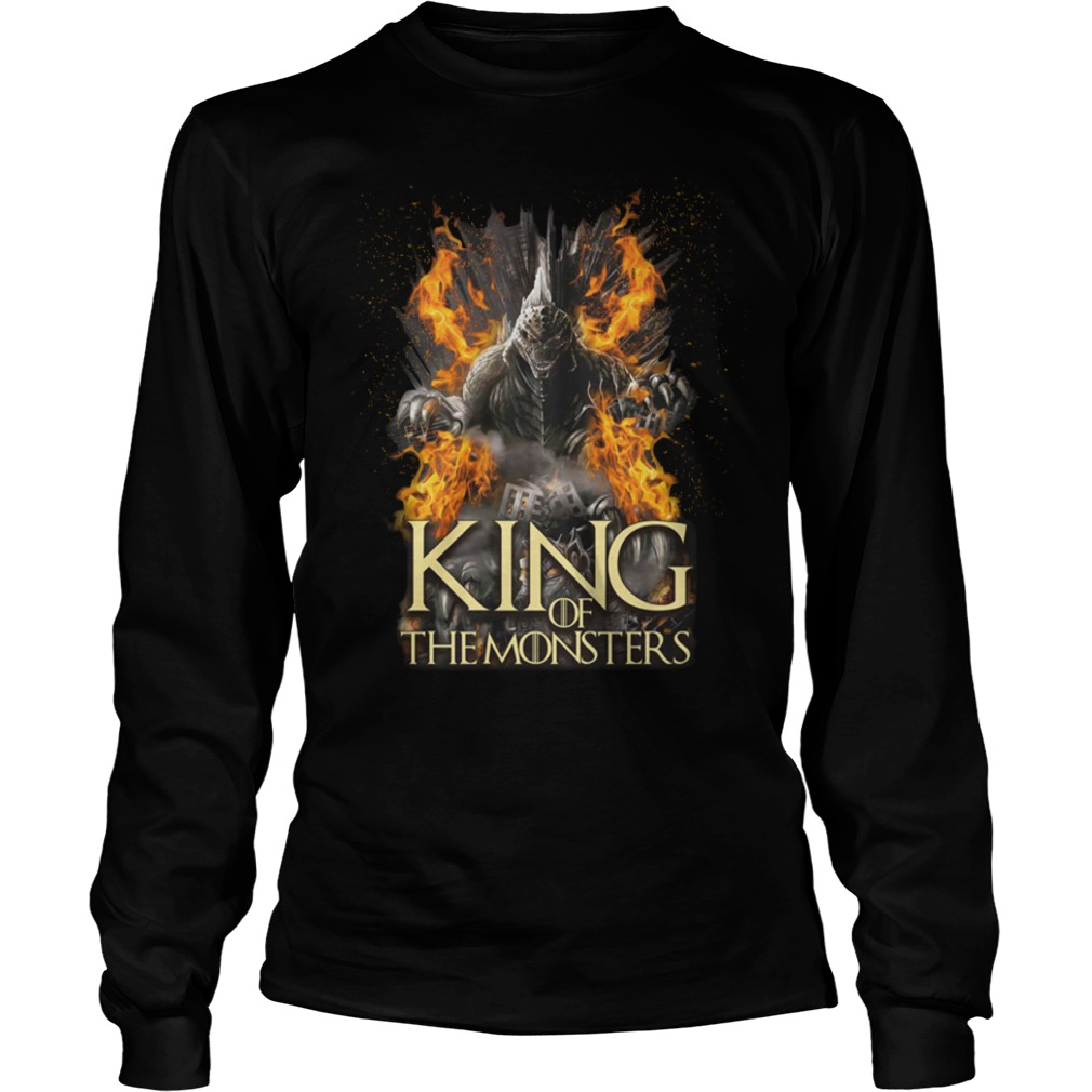 Game of Thrones Godzilla King of the monsters shirt unisex longsleeve tee