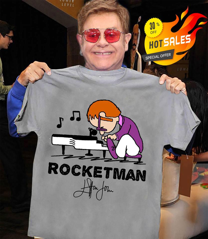 Elton John Rocket Man shirt