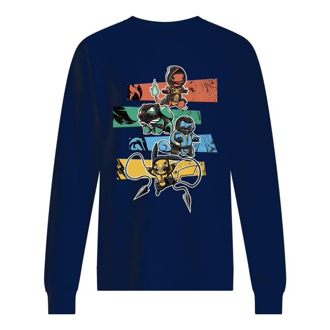 Pokemon and batman shirt unisex sweatshirt
