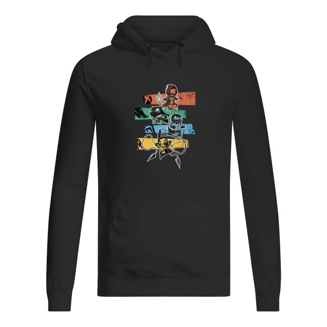 Pokemon and batman shirt women's hoodie