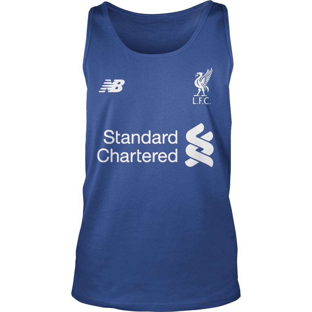 UEFA Champions League cup Liverpool player name typography shirt unisex tank top