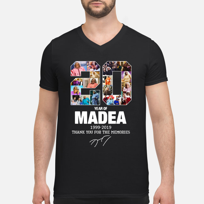 20 Years Of Madea 1999-2019 Thank You For Memories shirt men's v-neck t-shirt
