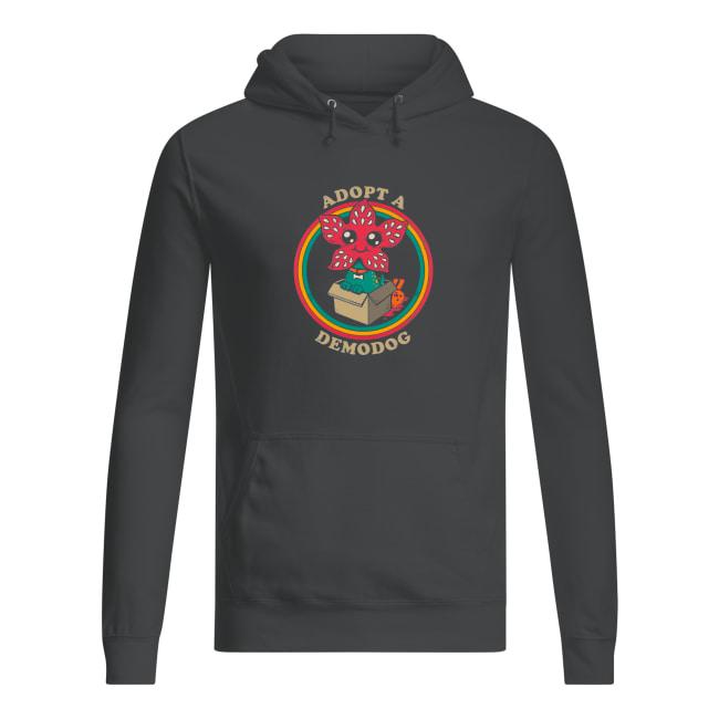 Adopt a Demodog Stranger Things shirt women's hoodie