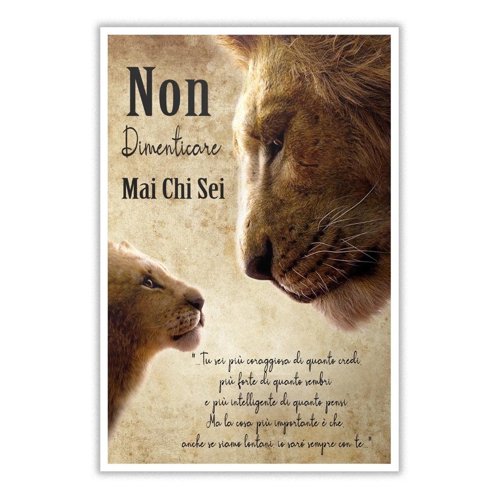 Non dimenticare mai chi sei Il re leone poster