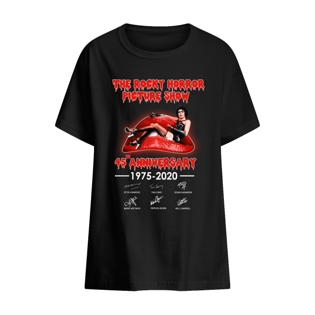 The Rocky horror picture show 45th anniversary shirt kids t-shirt