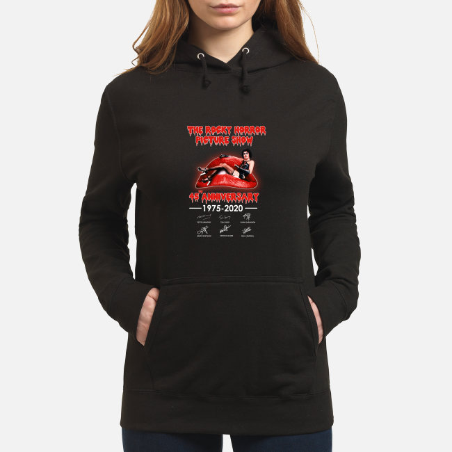 The Rocky horror picture show 45th anniversary shirt women's hoodie
