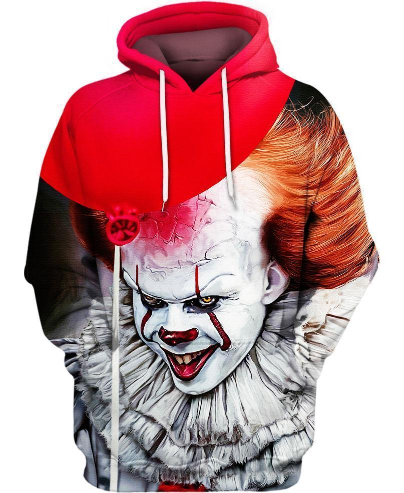IT 2 Pennywise 3D All Over Printed shirt hoodie