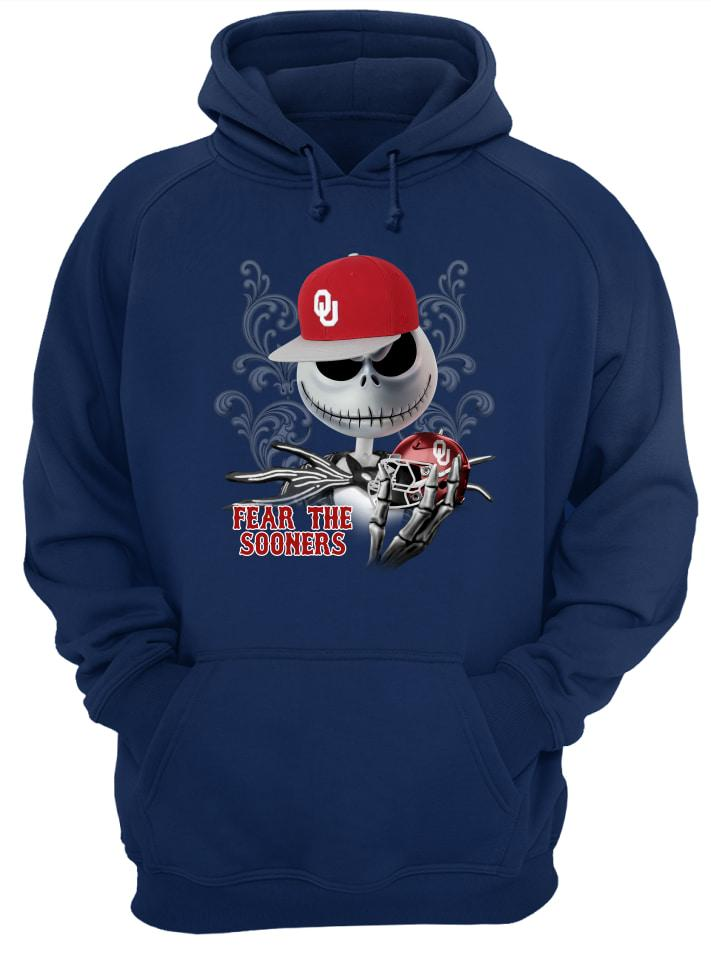 Jack Skellington Fear The Sooners Ohio State shirt unisex hoodie