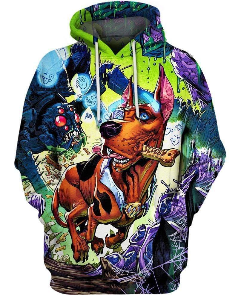 Scooby-Doo Halloween 3D All Over Printed shirt hoodie