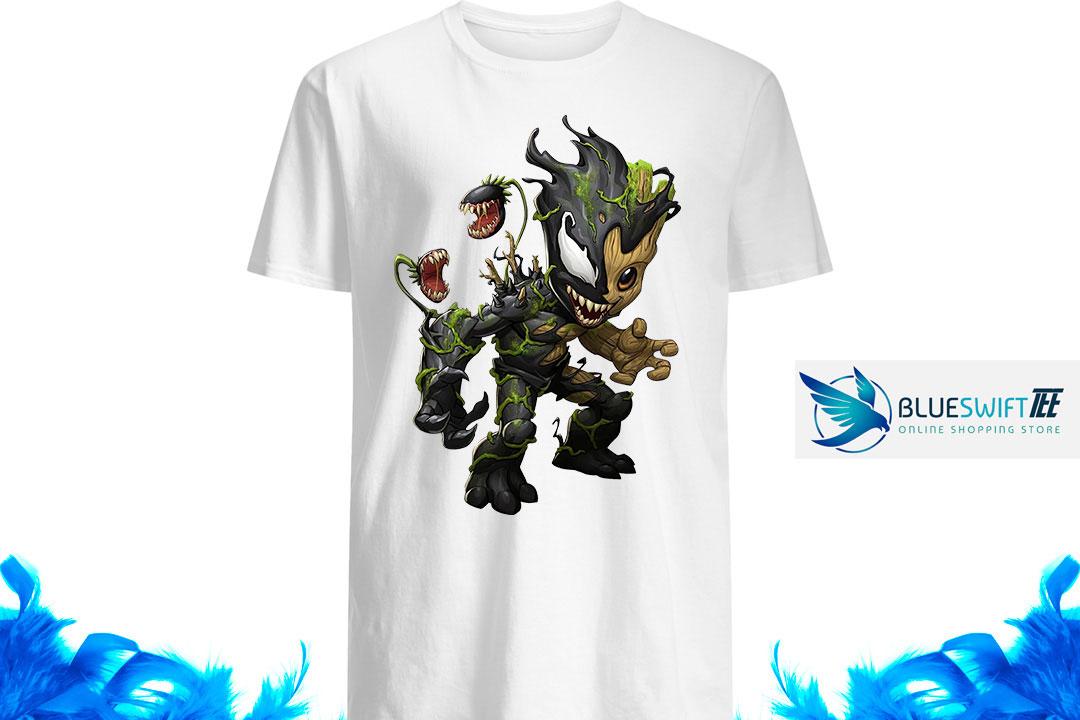 Maximum Venom Baby Groot shirtMaximum Venom Baby Groot shirt
