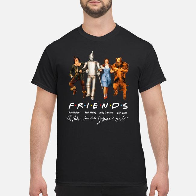 The Wizard Of Oz Friends TV Series signatures shirt classic men's t-shirt
