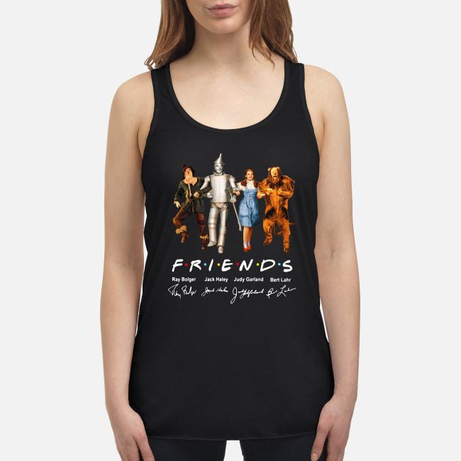 The Wizard Of Oz Friends TV Series signatures shirt women's flowy tank top