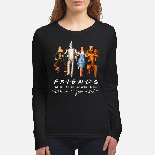 The Wizard Of Oz Friends TV Series signatures shirt women's long sleeved t-shirt