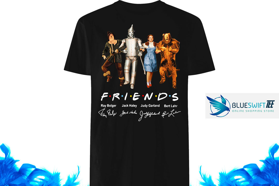 The Wizard Of Oz Friends TV Series signatures shirt