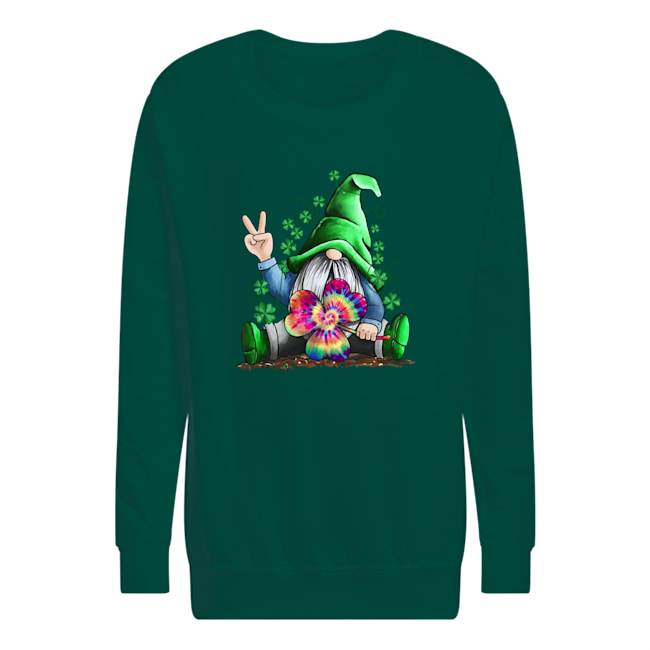 Hippie Gnome Happy St Patrick's Day shirt kids sweatshirt