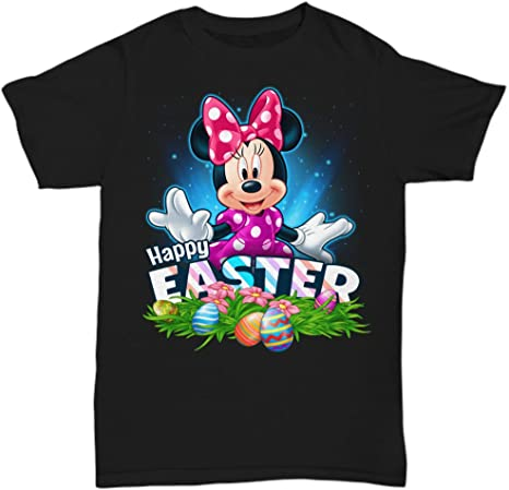 Happy Easter Minnie Loves Shirt
