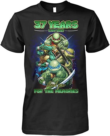 37 Years 1984-2021 Teenäge Mütant Ninja Turtles Lovers Shirt