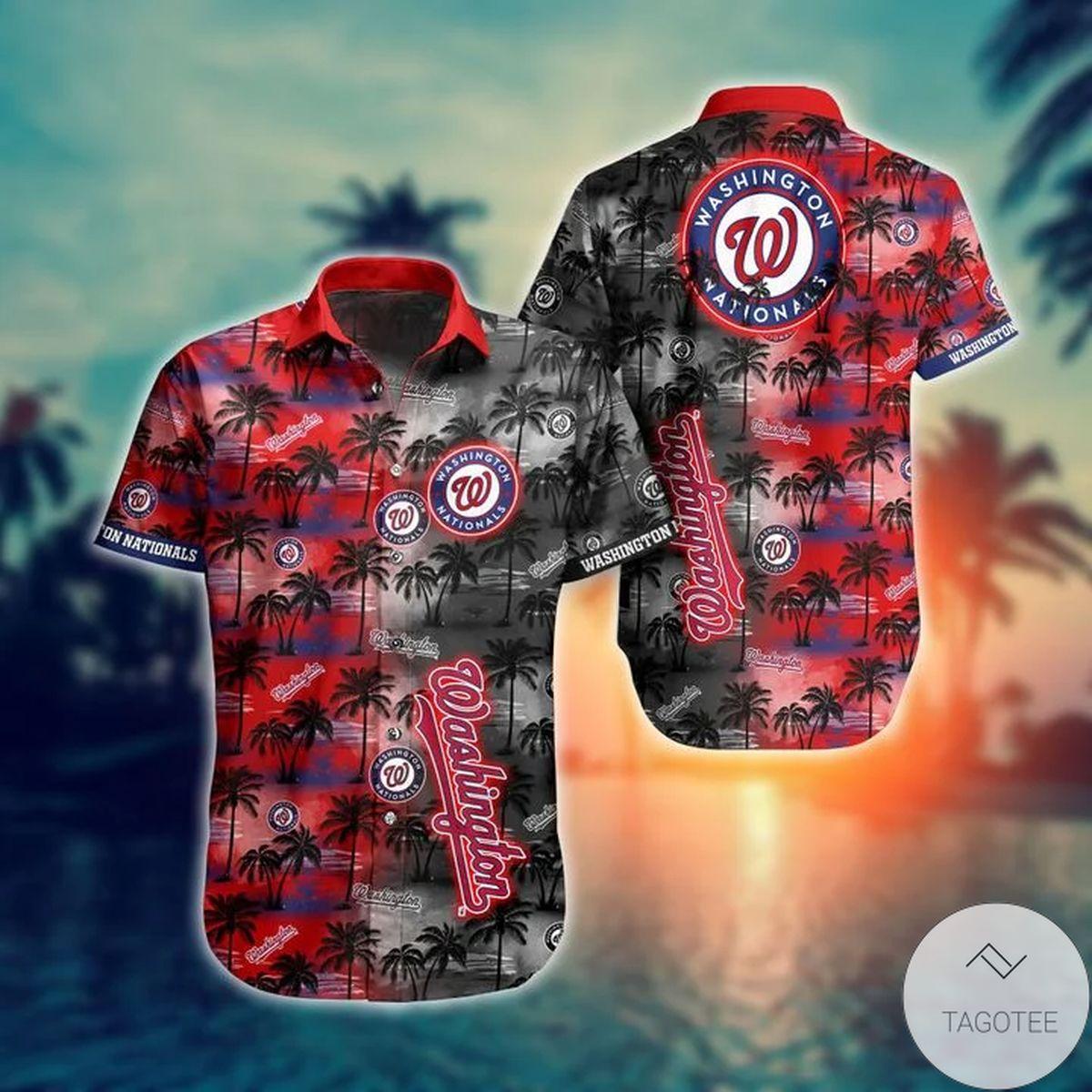 Washington Nationals MLB Hawaiian Shirt