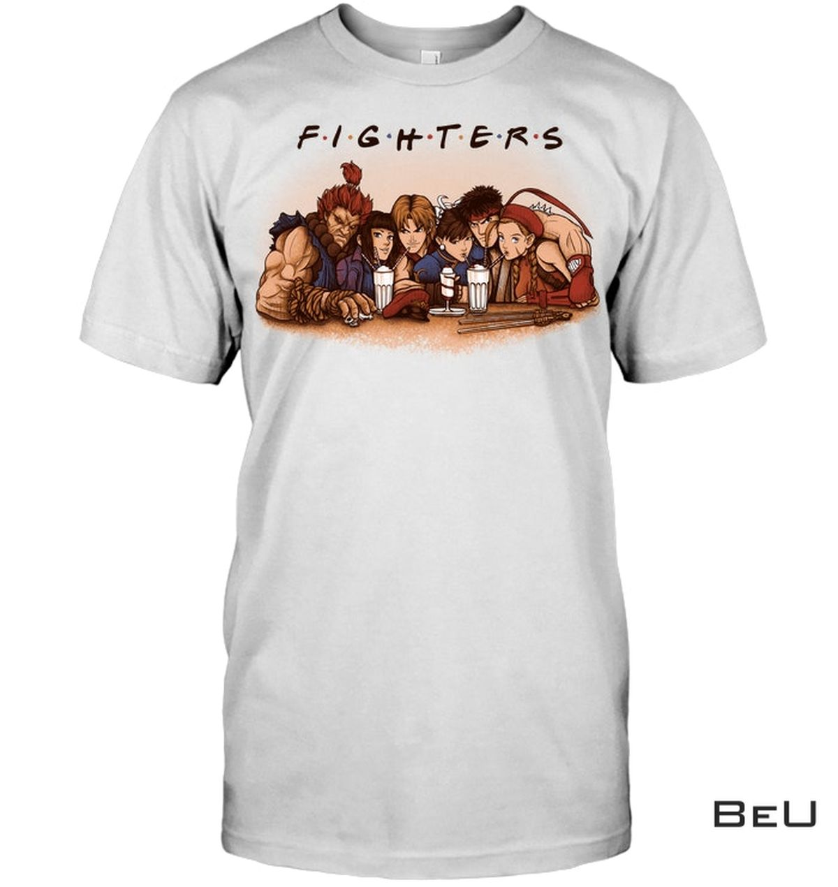 Fighters Characters Shirt